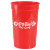 16oz Plastic Cups in Red