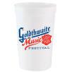 16oz Plastic Cups in White