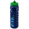 Finger Grip Sports Bottles 750ml in Blue