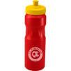 Tear Drop Sports Bottle 750ml in Red