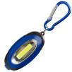 6 LED Light Keychains in Cobalt Blue