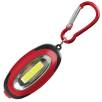 6 LED Light Keychains in Red