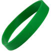 Express Silicone Wristbands in Medium Green