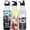 750ml Full Colour Metal Sport Bottles
