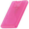 Express Credit Card Hand Sanitisers in Frosted Pink