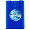 Express Credit Card Hand Sanitisers in Frosted Blue