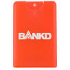 Express Credit Card Hand Sanitisers in Frosted Red