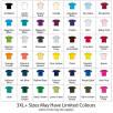 AWD Cool Tech Performance T-Shirt Colours