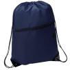 Headphone Slot Drawstring Bags in Navy Blue