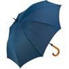 Fare Automatic Crook Handle Umbrellas in Marine