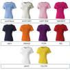 Ladies Cotton T-Shirts Colour Swatch 2 of 2