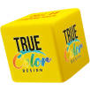 Stress Cube in Yellow