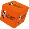 Stress Cube in Orange
