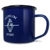 10oz Premium Enamel Mugs in Blue