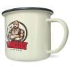 10oz Premium Enamel Mugs in Cream