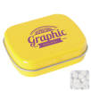 Rectangle Mint Tins in Yellow