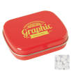 Rectangle Mint Tins in Red
