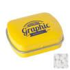 Mini Rectangle Mint Tins in Yellow