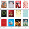 Traditional A4 Advent Calendars Stock Designs