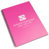 A4 Recycled Polypropylene Notepads in Cosmo PInk