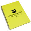 A4 Recycled Polypropylene Notepads in Sunshine Yellow