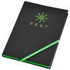 A5 Neon Notebooks in Black/Green