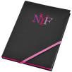 A5 Neon Notebooks in Black/Magenta
