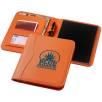 A5 Notepad Portfolios in Orange