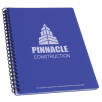 A5 Recycled Polypropylene Notepad in Royal Blue