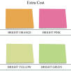 A7 Sticky Notes 'Special Colours' Available at Extra Cost