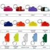 Acrylic Cloud Shape Keyrings