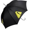 Aluminium Walking Umbrella in Black