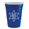 American Style Disposable Cups in Blue