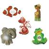 Resin Animal Fridge Magnets