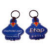 These promotional keyring torches can feature different designs on the front and the back.