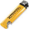Bottle Opener Lighters in Yellow