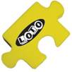 Stress Jigsaw Piece in Yellow