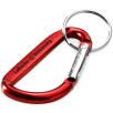 Carabiner Keyrings in Red