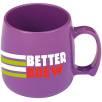 Classic Plastic Mugs in Purple