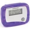 Clip On Pedometer in Purple