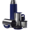 Deluxe Stainless Steel Flask Sets in Blue