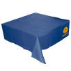 Disposable Paper Table Cloths in Blue