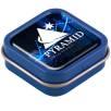 Domed Logo Mini Mint Tins in Blue