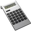Dual Powered Desk Calculators in Black/Silver