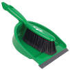 Dustpan and Brushes in Green