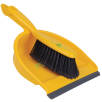 Dustpan and Brushes in Yellow