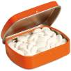Embossed Mint Tins in Orange