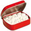 Embossed Mint Tins in Red