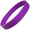 Express Silicone Wristbands in Purple