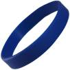 Express Silicone Wristbands in Dark Blue